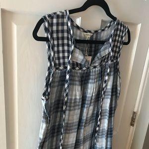 Plaid Printed Dress